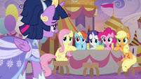 Twilight appears exhausted from coronation S9E26