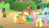 "Applejack ""I thought you said"" S8E23"