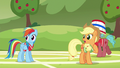 """Applejack """"where did Pinkie Pie learn to buck like that?"""" S6E18.png"""