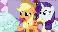 Applejack -it'll be covered in dirt in no time- S7E9