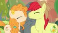 Bright Mac and Pear Butter lean in for a kiss S7E13.png