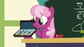 Cheerilee showing off the Derby awards S6E14.png
