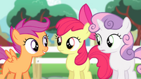 Cutie Mark Crusaders -whole bunch of practice- S4E05