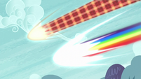 Discord and Rainbow Dash coming fast S5E22