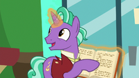 "Firelight ""not supposed to prance or canter"" S8E8"