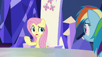 "Fluttershy ""seem to be having trouble"" S8E21"
