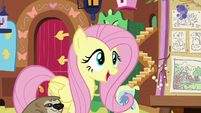 "Fluttershy ""to get things back on track"" S7E5"