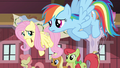 Fluttershy Rainbow worried S02E14.png