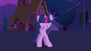 New Princess Twilight Sparkle standing up S3E13
