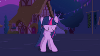 New Princess Twilight Sparkle standing up S3E13