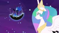 Nightmare Moon building her dark magic S7E10