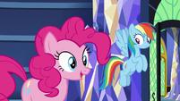 "Pinkie Pie ""I'm going with Gummy"" S9E26"