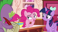 Pinkie Pie --oh, that's easy-- S6E22