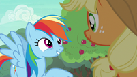 Rainbow Dash --I've just got one question-- S6E18