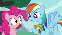 Rainbow Dash --gonna get a rainbow mouth-- S6E15
