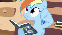 Rainbow Dash -he doesn't want to be bothered- S2E18