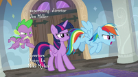 Rainbow Dash calling the culprit out S8E16