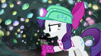 "Rarity ""this wasn't about treasure!"" S8E17"