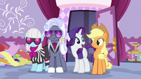 """Rarity """"we judges will offer our guidance"""" S7E9"""