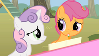 Scootaloo hear that S1E18