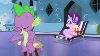 Spike --I love reliving my heroic deeds-- S6E1