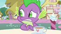 Spike still keeping a look out for Ember S7E15