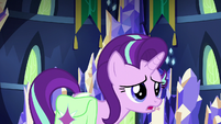 Starlight Glimmer sighing heavily S7E2