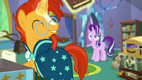 "Sunburst ""how well we get along"" S7E24"