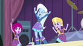 Trixie and her friends cheering EG2.png