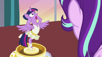 Twilight Sparkle freaking out S7E10