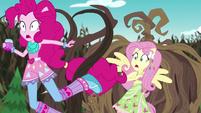 Vines knocking over Pinkie Pie EG4
