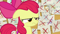 Apple Bloom pouting angrily S6E4