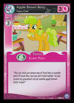Apple Brown Betty, Pastry Chef card MLP CCG