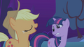 Applejack insists on accompanying Twilight S1E02.png