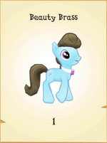 Beauty Brass MLP Gameloft