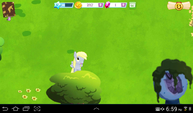 Derpy Hooves in Gameloft's MLP Mobile game