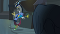 Discord dressed as a police officer S4E25.png