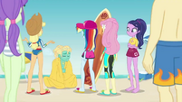 Equestria Girls save Zephyr Breeze EGDS19
