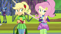 "Fluttershy ""glad I don't go to Crystal Prep"" EG3"