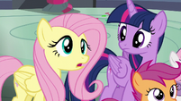 Fluttershy --the same terrible nickname-- S6E7