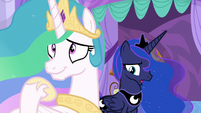 "Luna ""not sure how we can both be happy"" S9E13"
