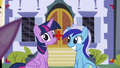 Minuette and Twilight viewed from the camera S5E12.png