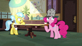 Pinkie ponders on Dr. Fauna's testimony S7E23.png