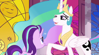 "Princess Celestia ""I don't know about you"" S7E10"