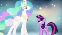 Princess Celestia you've grown up S3E13