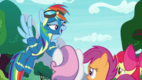"Rainbow Dash ""being a Wonderbolt"" S9E22"