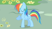 Rainbow Dash --The one and only!-- S1E01
