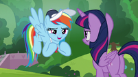 Rainbow Dash -somepony who isn't me- S9E15