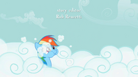 Rainbow Dash Cloud Swimming S2E08