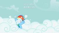 Rainbow Dash Cloud Swimming S2E08